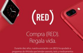 Apple venderá iPhone 7 y 7 Plus en color rojo para luchar contra el SIDA